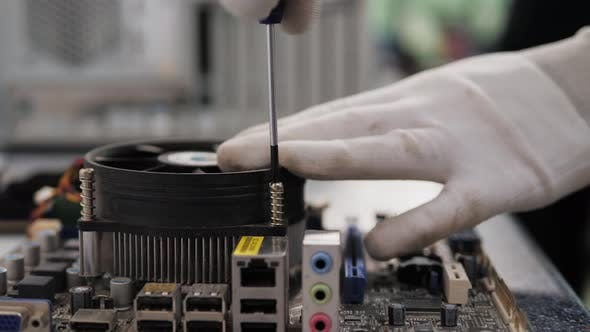 Repair of Electronic Components, Technology, Motherboard Connectors