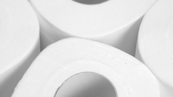 Thumbnail for A Lot of Toilet Paper. Closeup