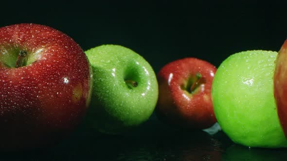 Heap Of Smooth Apples