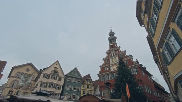 Thumbnail for Street with Historical Houses in Esslingen Am Neckar, Germany