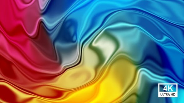 Multicolor Glossy Gradient Motion 4K