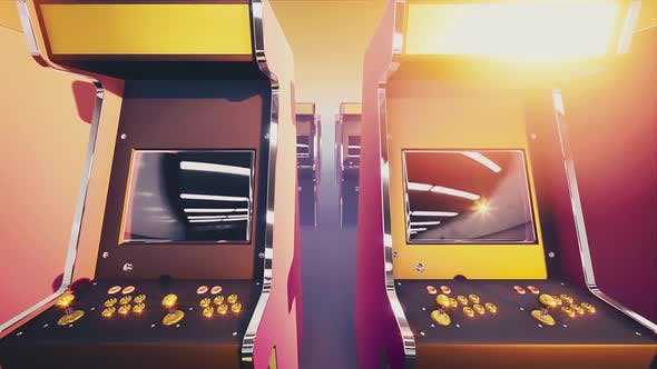 Thumbnail for Retro Arcade Game Machines #04