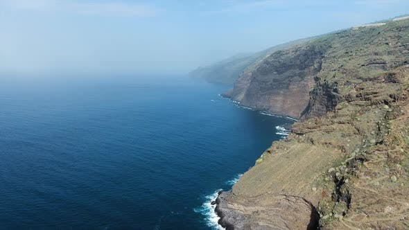 Thumbnail for Aerial Of Amazing Ocean Coast Cliffs
