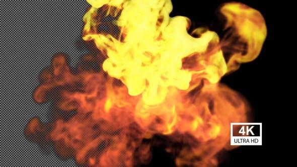 Thumbnail for Cinematic Fire V2 4K