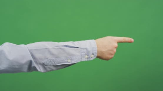 Thumbnail for Index finger pointing