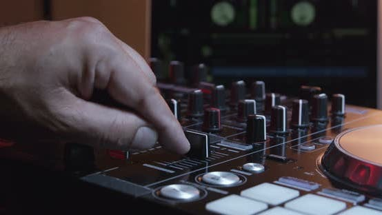 Thumbnail for DJ Hands Working With Musical Equipment 07b