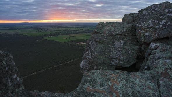 Thumbnail for 4K Timelapse du sommet du mont Zero, Roses Gap, Parc national des Grampians, Victoria, Australie