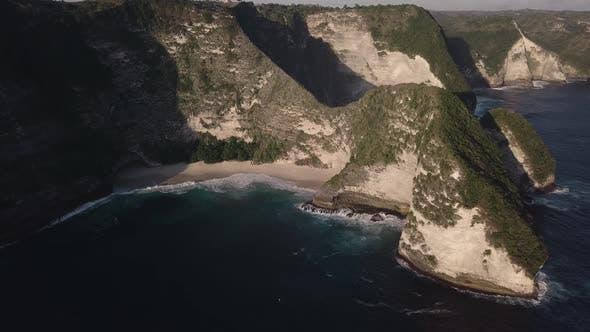 Thumbnail for Aerial View of Kelingking Beach in Nusa Penida Island