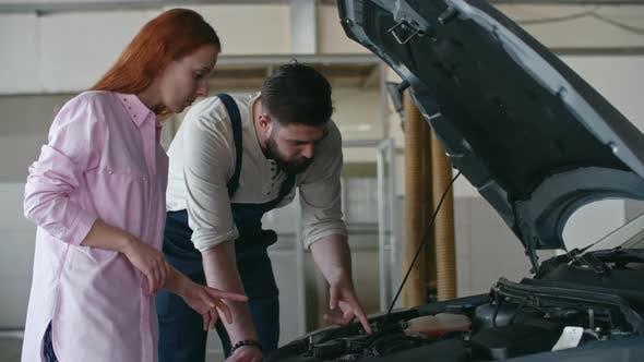 Thumbnail for Providing Car Service to Woman