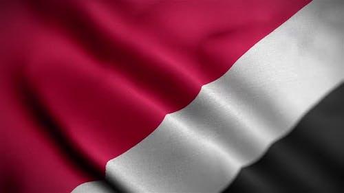 Sealand Principality Of Flag Textured Waving Close Up Background HD