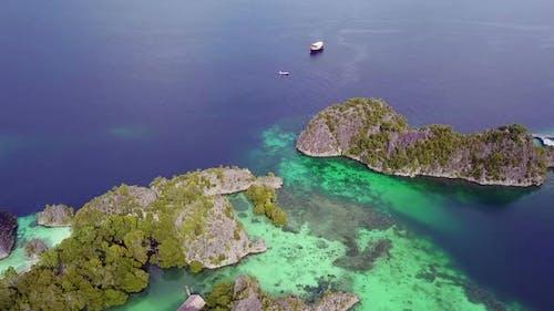 Raja Ampat Archipelago and Boats