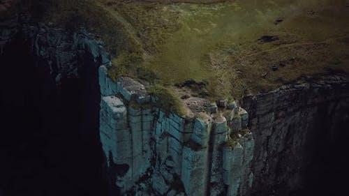 Cliff in a Scotland Highlands