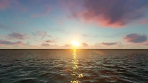 Advancing In The Ocean