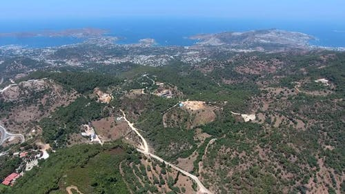 Bodrum Bays and Forest Topography