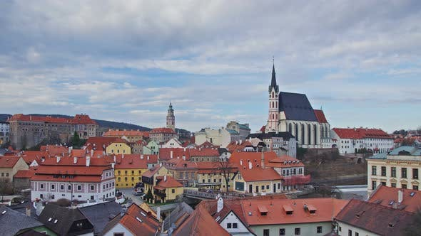 Thumbnail for Krumlov Town In Czech Republic, #2