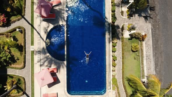 Thumbnail for Girl Is Swimming Pool