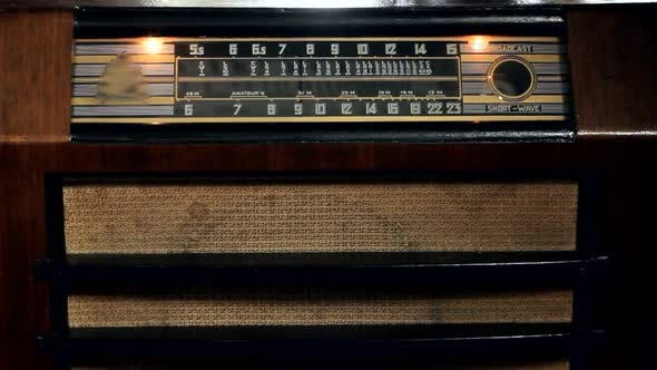Old Vintage Radio.