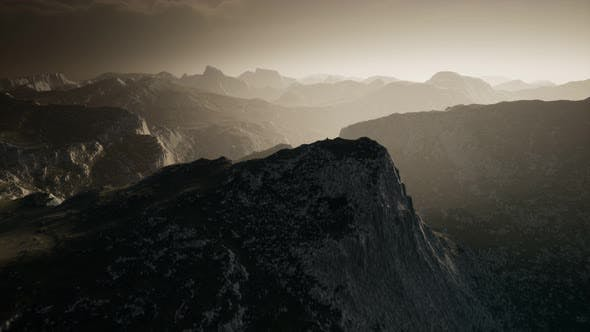 Thumbnail for Dramatic Sky Over Steps in a Mountain.