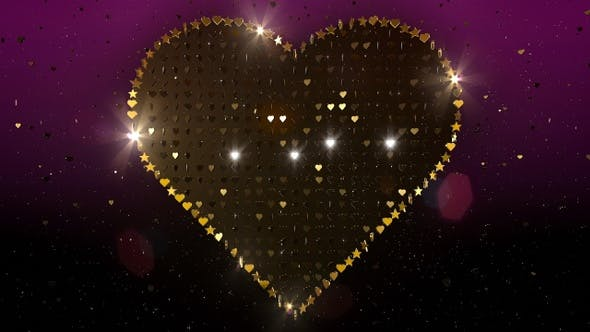 Valentines Herz Glitter 8