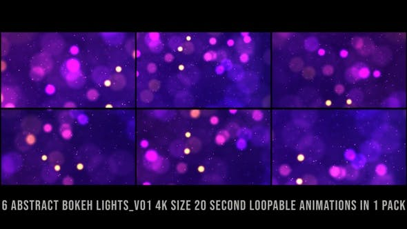 Thumbnail for Decorative Bokeh Lights Pack V01