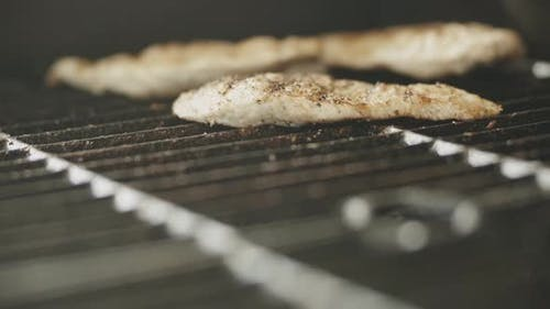 Chicken Breast on a Grill