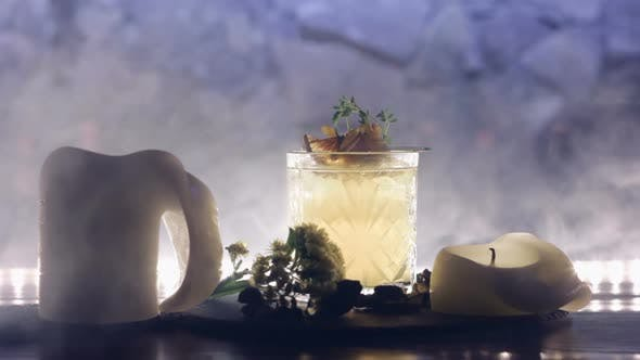 Thumbnail for Cocktail with Candels
