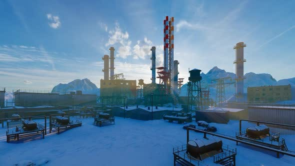 Gas Processing Complex In The Mount