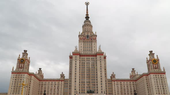 MSU Building in Moscow