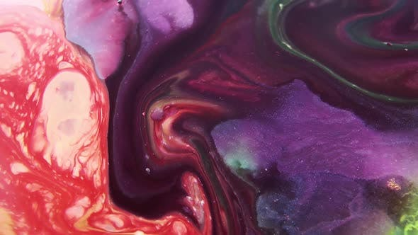 Thumbnail for Marble Paint Mixture Texture
