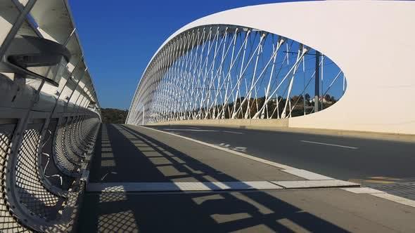 Thumbnail for A Modern Bridge on a Sunny Day