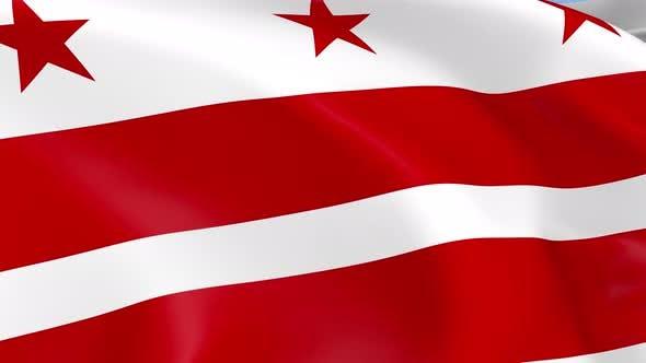 Thumbnail for Washington DC Flag