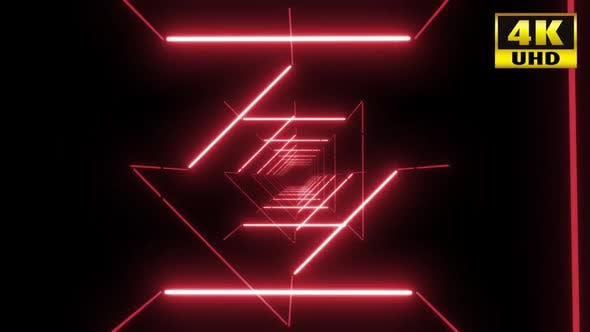 Thumbnail for 5 Colorful Neon Tunnel Vj Pack