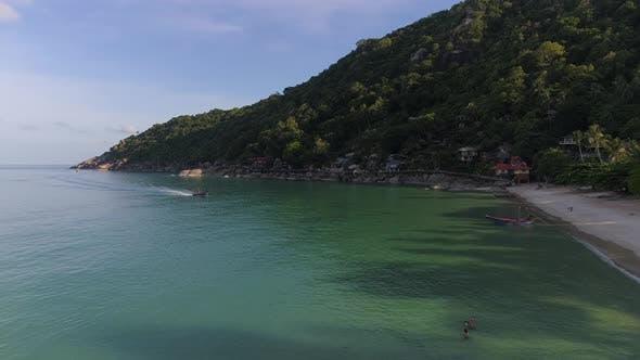 Thumbnail for Flight over Beautiful Tropical Beach