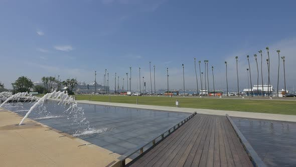 Thumbnail for Fountains in Waterfront Park, San Diego