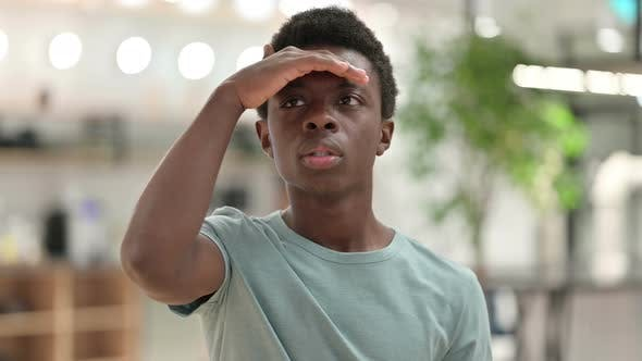 Thumbnail for Young African Man Searching for New Opportunity