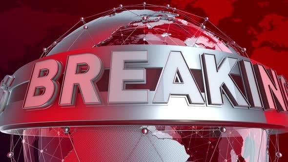 Breaking News Studio Background (Looping)