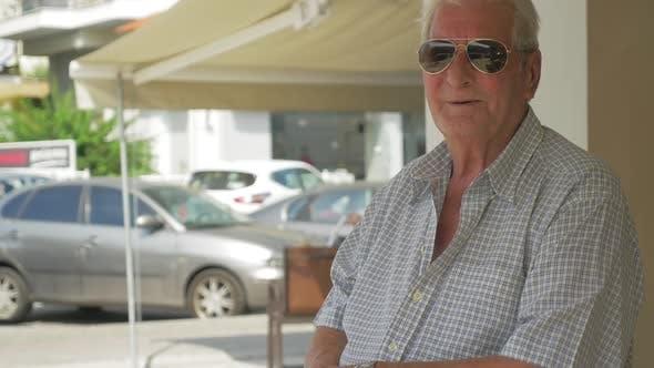 Thumbnail for Senior Man in Sunglasses