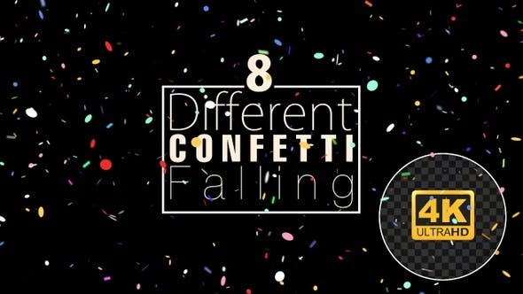 Thumbnail for Confetti Falling Pack