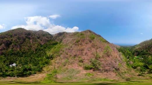 Thumbnail for Tropische Landschaft mit Regenwald Indonesien Vr360