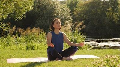 Yoga. Meditation. Healthy lifestyle