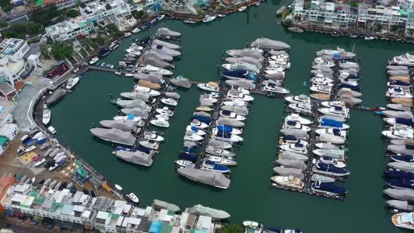Thumbnail for Top Ansicht von Hong Kong Yachtclub in Sai Kung