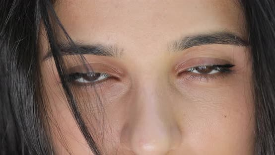 Cover Image for Closeup of Woman Open Eyes