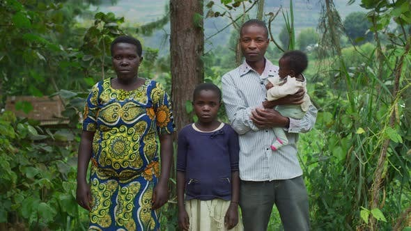 Thumbnail for African family of four