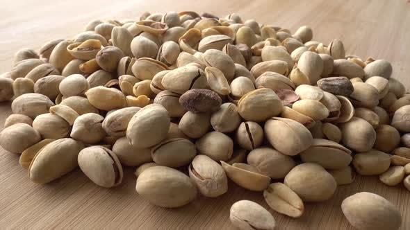 Cover Image for The Camera Moves Over the Pistachios