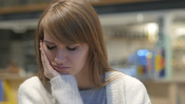 Thumbnail for Headshot of Young Woman with Tooth Infection, Toothache