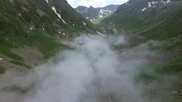 Thumbnail for Cloud Covering the Bottom of the U-shaped Valley