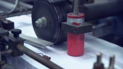 Printing Newspaper at Print Factory