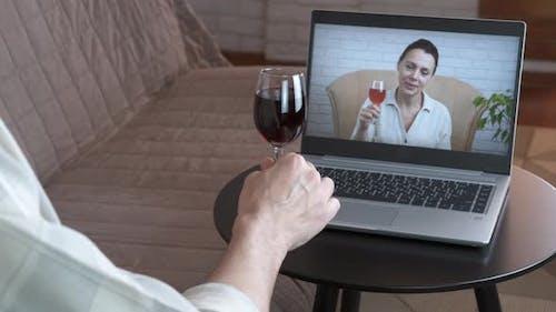 Online-Veranstaltung mit Wein