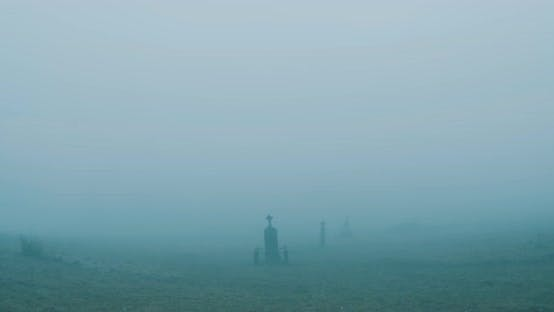 Thumbnail for Foggy Cemetery Walk