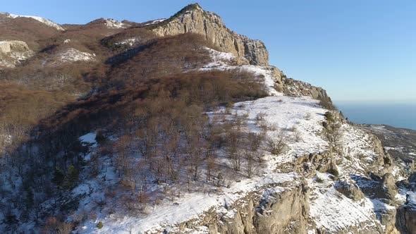 Thumbnail for Breathtaking landscape of steep stony slopes